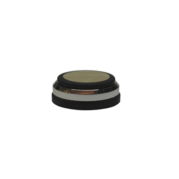 Afbeelding van Audio Selection, Dempers 45 mm zilver los