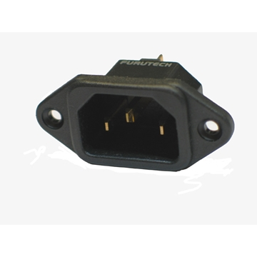 Picture of AC-Inlet Gold chassideel