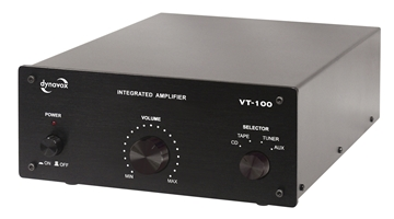 Picture of Dynavox VT-100 stereo amplifier black