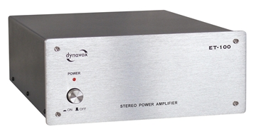 Picture of Dynavox ET-100 2 channel power amplifier silver