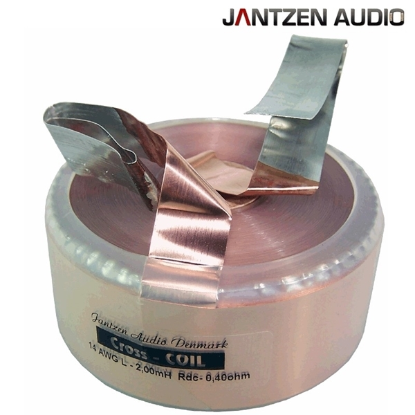 Picture of Jantzen Cross Coil 1,800mH +/-2% 0,37Ω +/-5% 14AWG OD80 H37