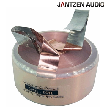 Picture of Jantzen Cross Coil 1,500mH +/-2% 0,46Ω +/-5% 16AWG OD73 H27