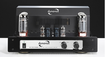 Picture of Dynavox VR-70EII Phono tube amplifier Chrome